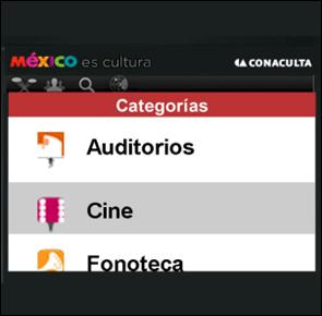 App CONACULTA